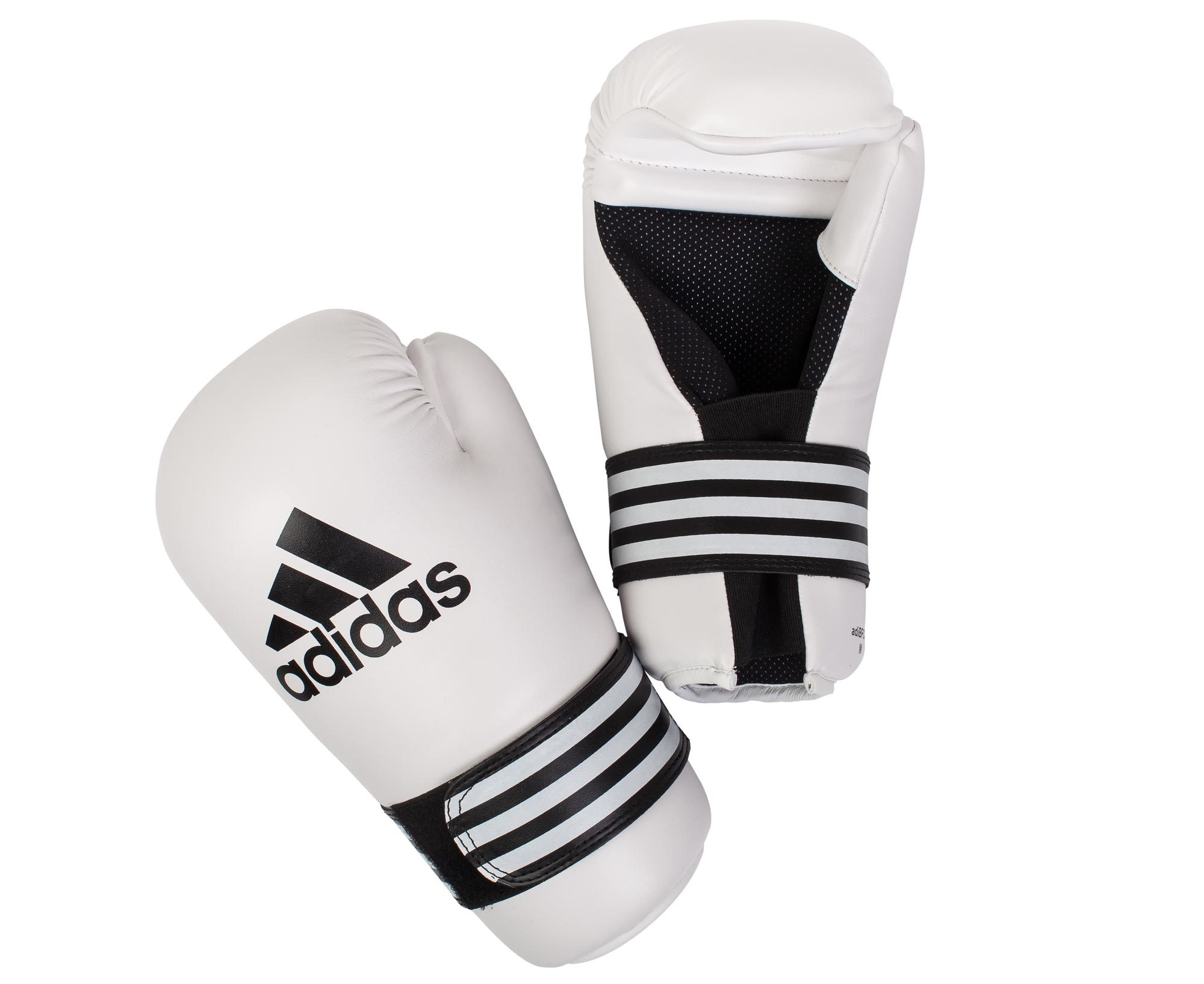 Перчатки ПЕРЧАТКИ ДЛЯ КИКБОКСИНГА SEMI CONTACT GLOVES ADIDAS perchatki_polukontakt_semi_contact_gloves_belye.jpg