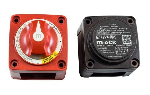 Реле зарядки M-ACR (65 А) и выключатель массы