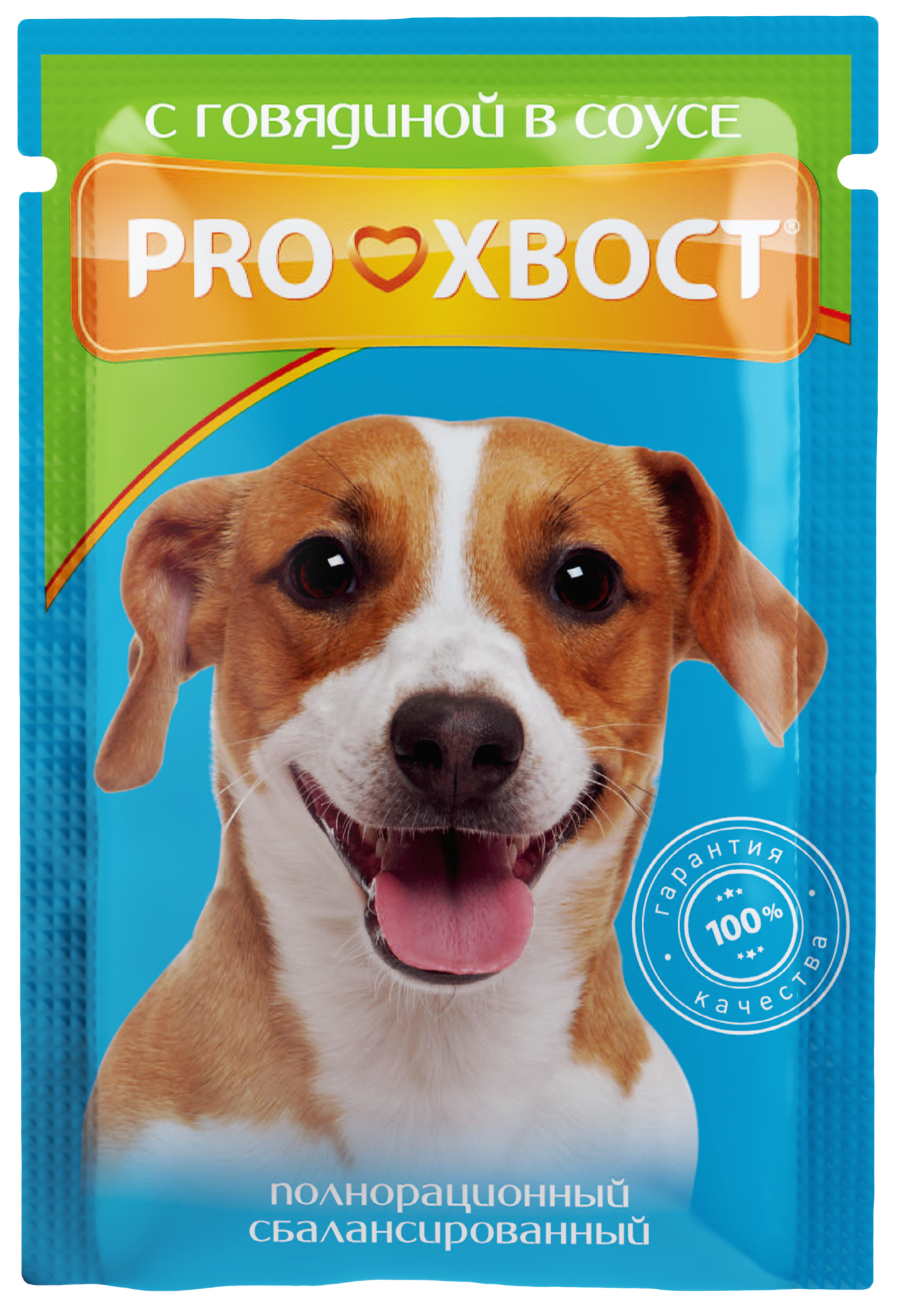 ProХвост Пауч ProХвост для собак говядина в соусе, упаковка-25шт. PH_dog_beef_85.png