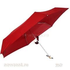 Легкий мини зонт Три Слона L5605 5 сложений бордовый
