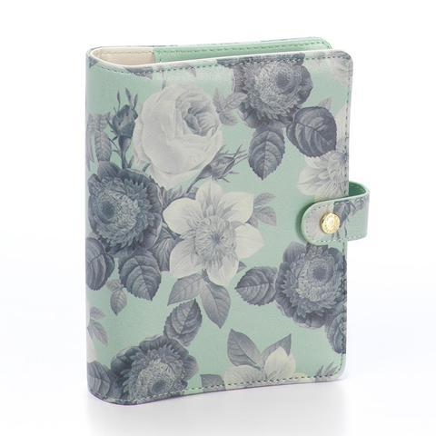 Планер Carpe Diem - Mint Vintage Floral Personal Planner