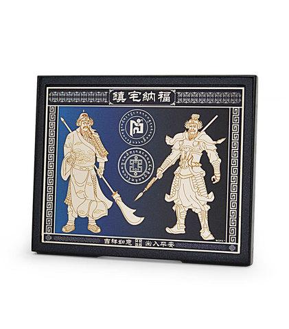 Защитная табличка с дверными стражами