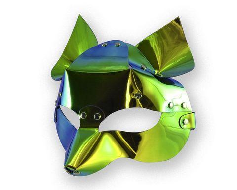 Голографическая маска  Лиса
