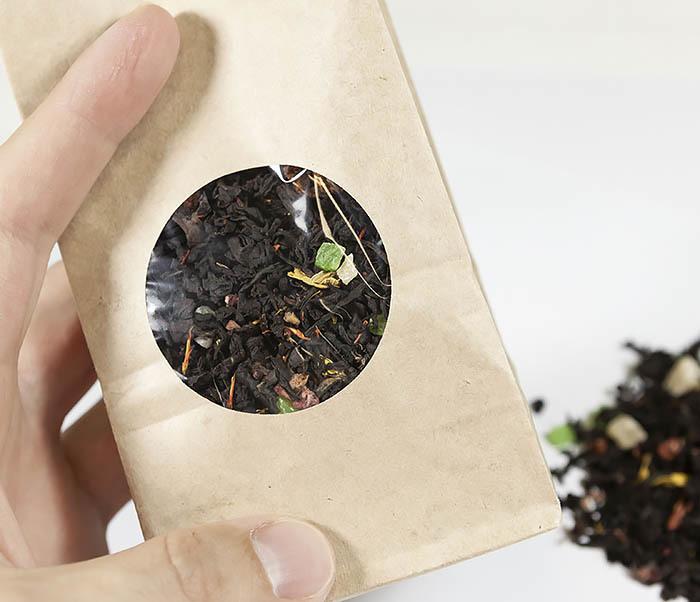 TEA-AR112 Черный ароматизированный чай «Сокровища Карибского Моря» (50 гр) фото 04