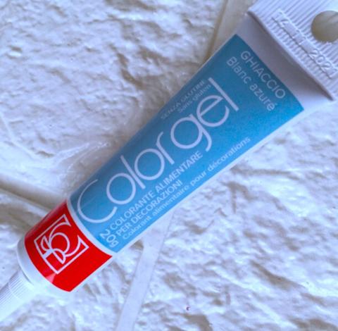 Краситель пищевой гелевый ColorGel КОЛОРГЕЛЬ 20г. голубо-серый  BLANC AZURE