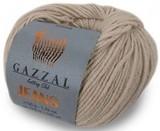 Пряжа Gazzal Jeans 1114 беж