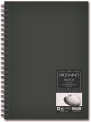 Скетчбук для графики на спирали Fabriano