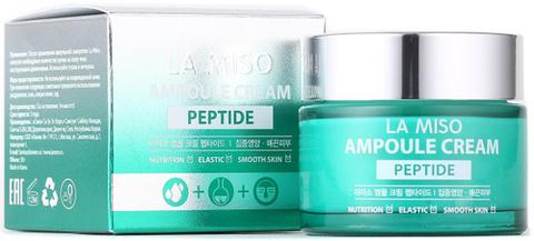 LA MISO Ампульный крем с пептидами, 50мл
