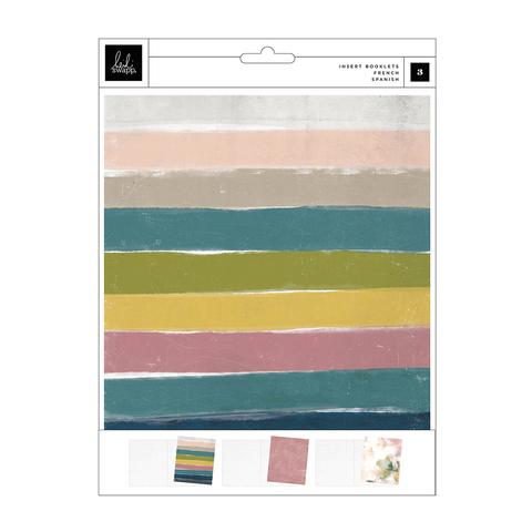 Тетради 19х23,5 см для альбомов Heidi Swapp Storyline Chapters Insert Book Set -Mount  -3 шт