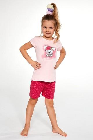 Пижама для девочек с шортами CORNETTE 787/788 LITTLE MOUSE