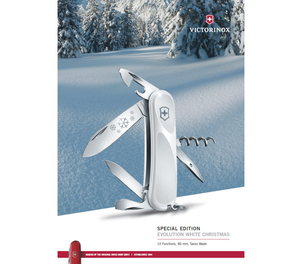Victorinox Evolution White Christmas (2.3803.C77)
