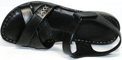 Черные сандалии Evromoda 15 Black.