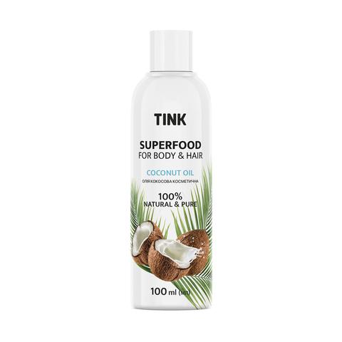 Кокосова олія косметична Coconut Oil Tink 100 мл (1)