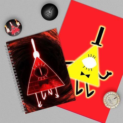 Билл Сайфер: набор из тетради, плаката А4 и 3 значков