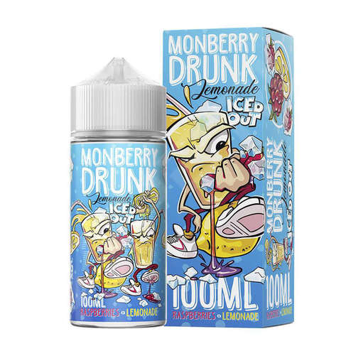 Жидкость Monberry Drunk Lemonade Iced Out 100 мл Raspberries