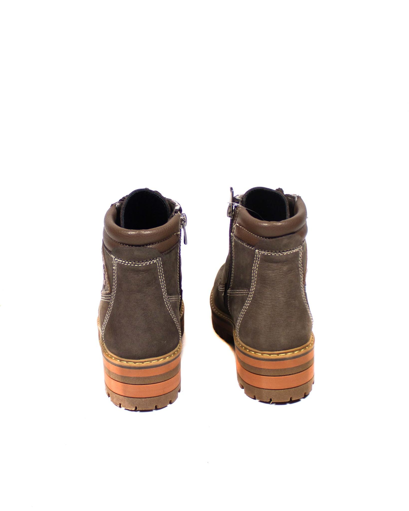 серые ботинки Donna Ricco