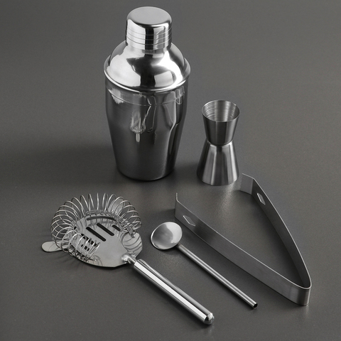 Набор для приготовления коктейлей «Главный по коктейлям», 5 предметов