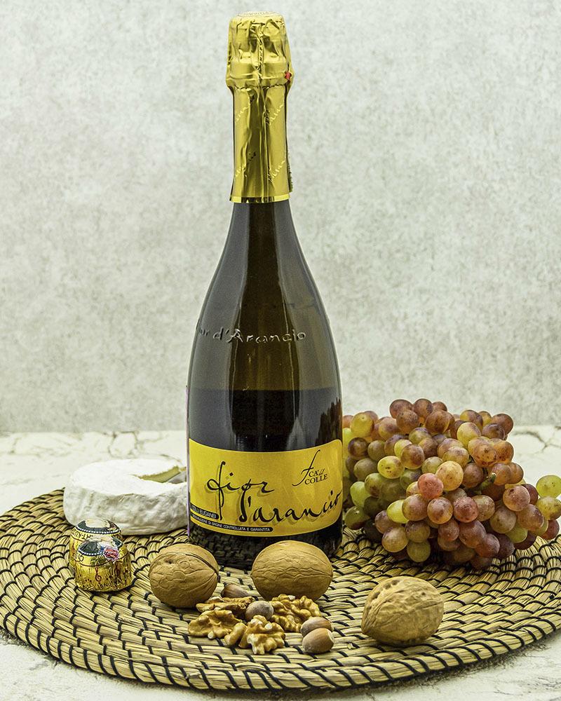 Вино Игристое CA'del Colle Ка дель Колле Фиор Д'Аранчио Белое Сладкое 6,5% 0,75 л