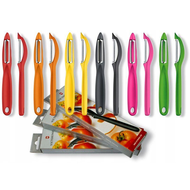 Швейцарская овощечистка Victorinox Universal Peeler 7.6075 | представлена в широкой цветовой гамме