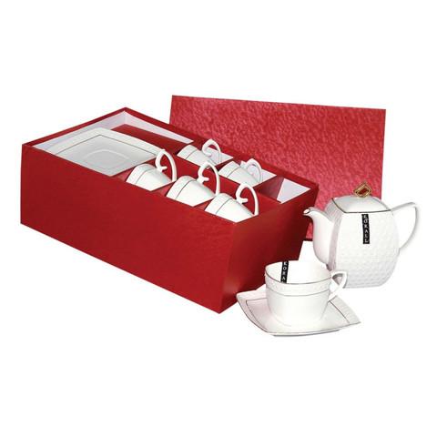 Сервиз чайный  Снежная Королева  на 6 персон 13 предм.(CPT0110-A)