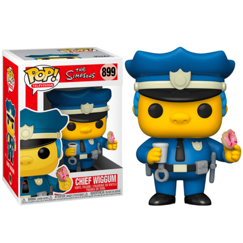 Chief Wiggum 899 Simpsons Funko Pop!