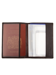 Обложка д/паспорта и авто 00018-9 coffee GF