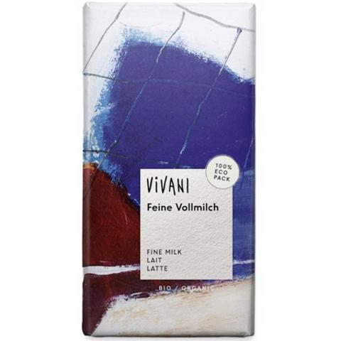 VIVANI Молочный шоколад Vivani, 100 г