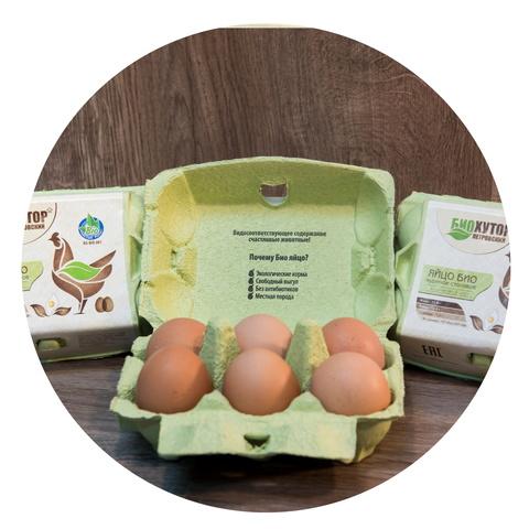 Яйцо куриное БИО (30шт)