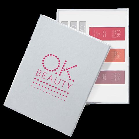 Подарочный набор OK Beauty Posh Berry NEW in PEARLY SILVER