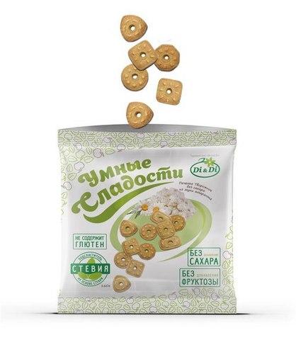 Печенье амарантовое, Di&Di, творожное, 160 г