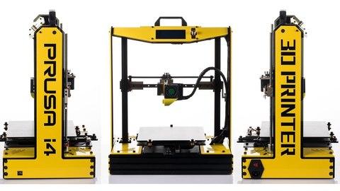 3D принтер Sunhokey Prusa i4 + 2 катушки пластика — 3Д принтер, Три-Д printer Санхокей Пруса i4