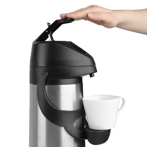 Термос Emsa Pronto с пневмонасосом (1,9 литра), серый