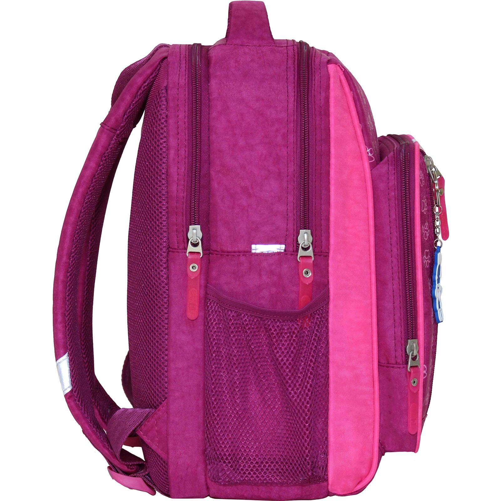 Рюкзак школьный Bagland Школьник 8 л. 143 малиновый 118д (0012870)