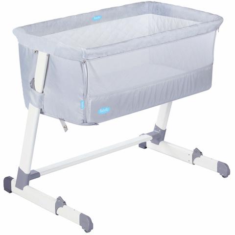 Детская приставная кроватка Nuovita Accanto (latteria / Молочный)