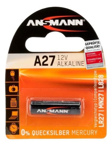 Батарейка А27 ANSMANN 12V