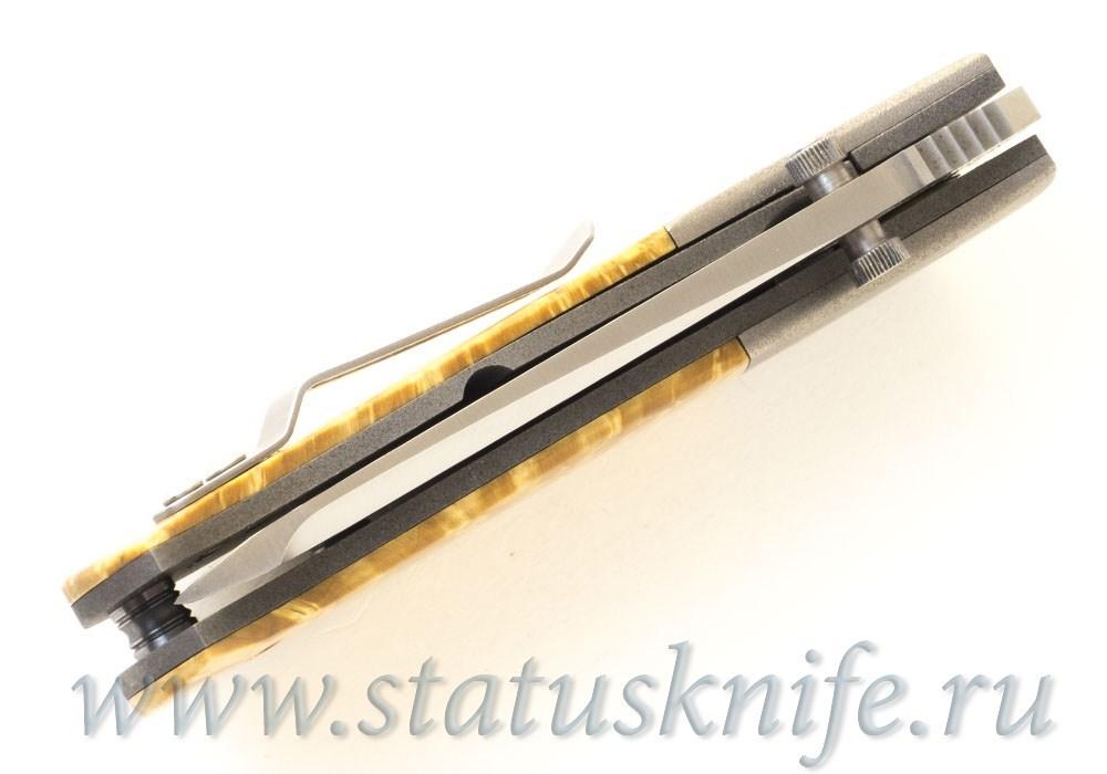Нож Lightfoot Max Velocity BG42 Wood - фотография
