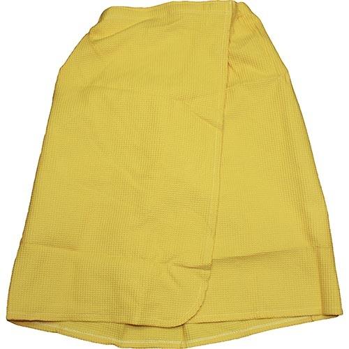 Парео вафельное желтое