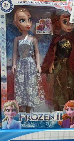 Анна и Эльза 45 см