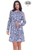 Домашняя рубашка с длинным рукавом DolceVita