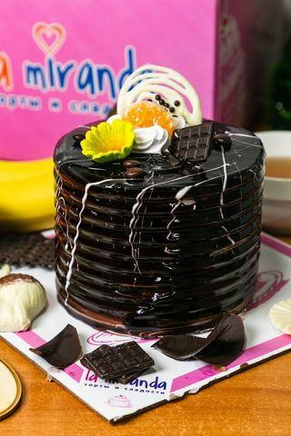 Торт круглый Микро Банановый