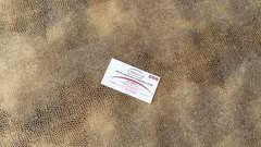 Искусственная замша Сонора 01 светло-коричневая