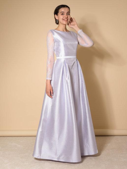 Платье Классика Блис (лаванда)