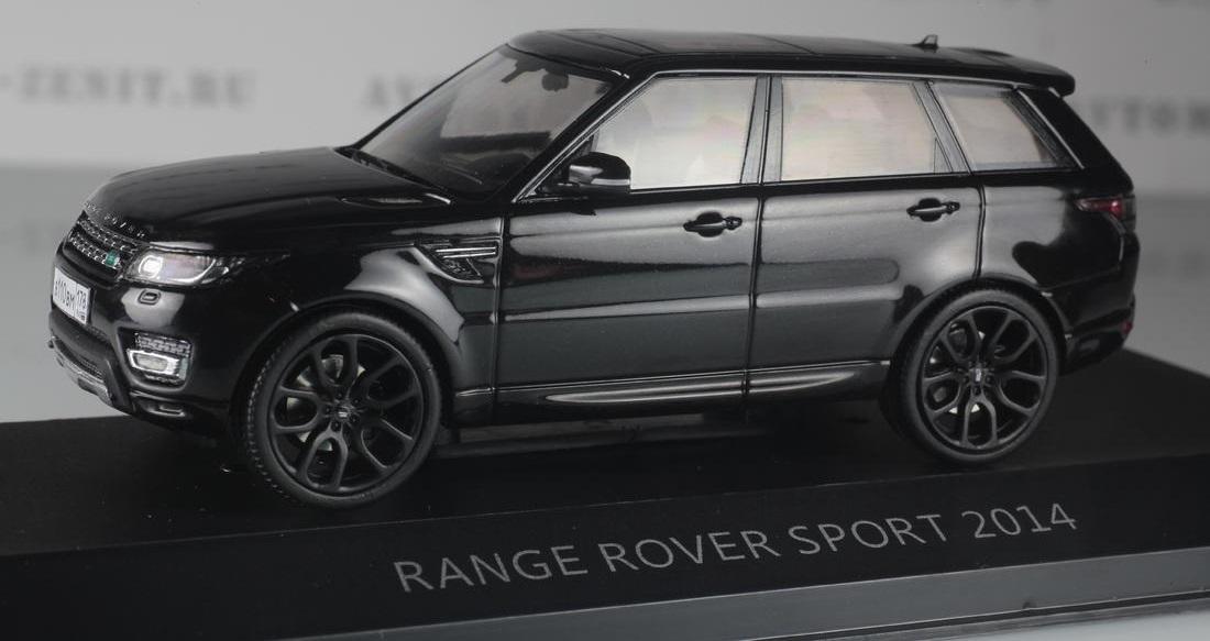 Коллекционная модель Range Rover Sport 2014