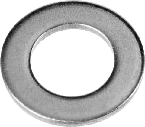 Шайба DIN 125A, 5 мм, 5 кг, оцинкованная, ЗУБР