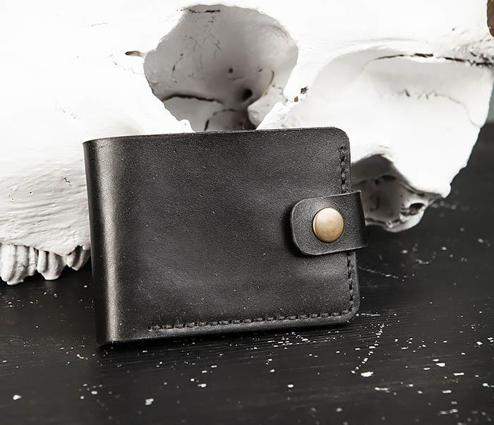 WB182-1 Мужское портмоне ручной работы с монетницей