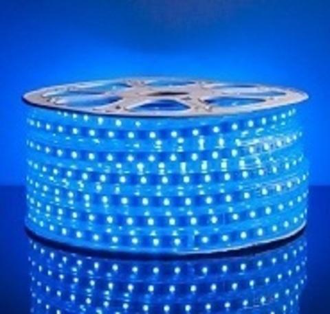 Светодиодная лента SMD3528/60, 220V влагозащищенная. Синяя.