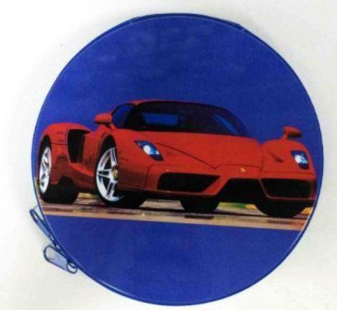 Металлическая сумка для дисков CD-24 Ferrari красн