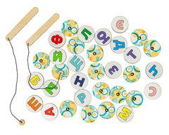 Обучающая игра Магнитная азбука, Smile decor П248