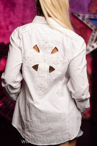 Affliction женская рубашка 111WV117