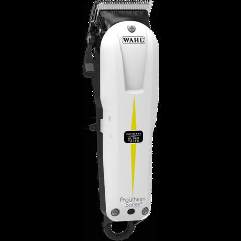Машинка для стрижки Wahl Super Taper Cordless, аккум/сетевая, 4 насадки, белая
